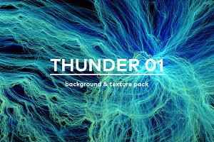 Thunder 1. Texure/background pack