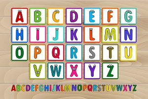 Letter blocks spelling baby blocks.