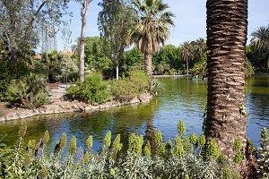 Ciutadella Park in Barcelona