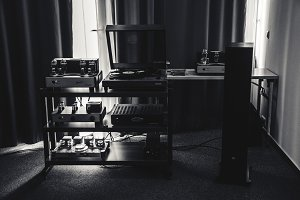 Amplifier, Speaker,CD Player