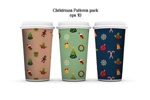 Christmas patterns. Vector