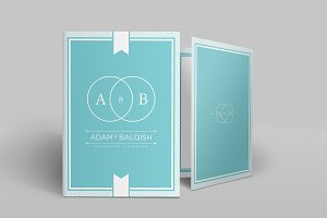 Wedding Invitation Template Vol-4