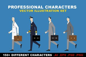 Professional Characters Set