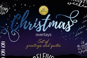 Christmas 2016 text overlays
