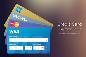 Beautiful Credit Card Inputs (Coded)