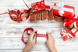 Cirl packs a handmade gift