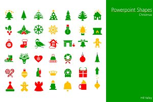 "PowerPoint shapes ""Christmas"""