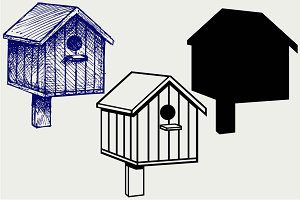 Nesting box SVG