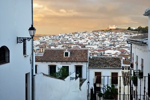 white village of southern Spain