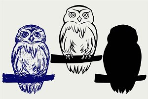 Great Owl SVG