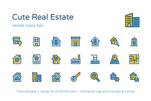 100+ Cute Real Estate Icons