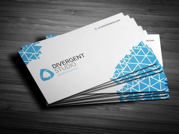 Pixels Buisness Card Business Card Templates Creative Market