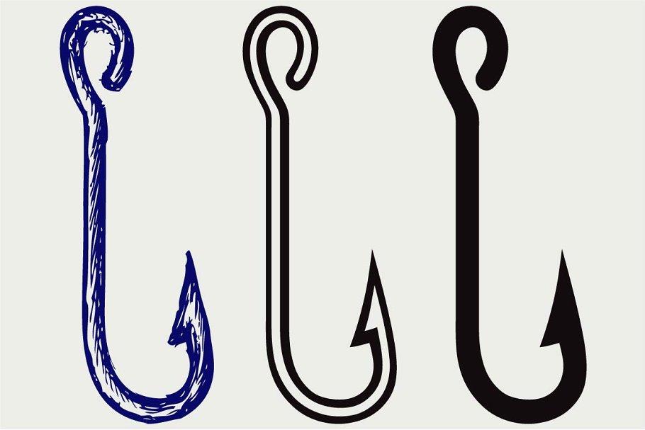 Download Fishing Gear Svg Pre Designed Illustrator Graphics Creative Market