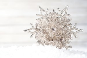 Snowflakes. Winter decoration