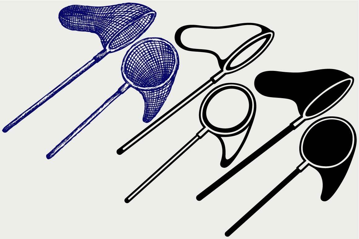 Download Fishing Net Svg Pre Designed Illustrator Graphics Creative Market