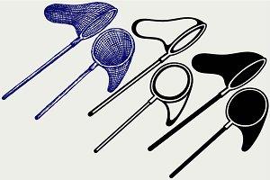 Fishing net SVG
