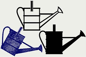Watering can SVG