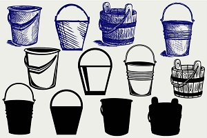 Set buckets SVG