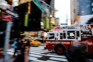 new york fire truck