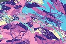 №219 Camouflage Pink Pattern