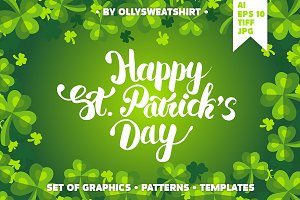 St. Patrick's Day Set Of Graphics
