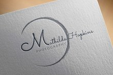 Simple Photography Logo Template