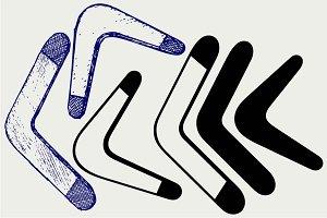 Boomerang SVG