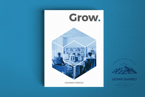 Company Profile Brochure Templates Creative Market
