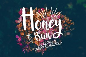 Honey Bun - Typeface