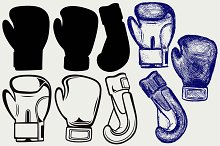 Pair boxing gloves