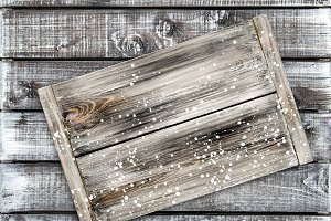 Wooden background rustic desk