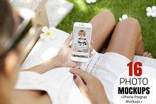 iPhone Pregnat Mockups