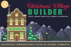 Christmas Village Builder