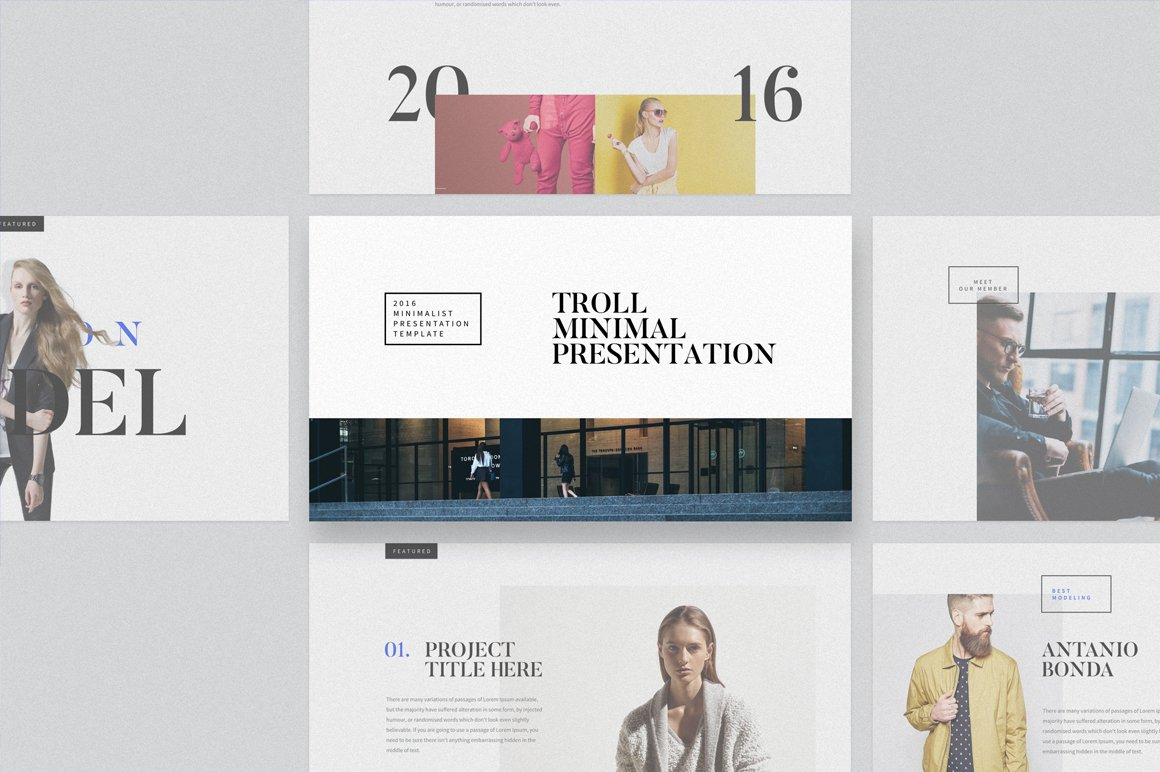 troll powerpoint template presentation templates on creative market