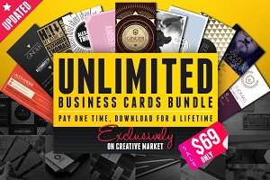 Unlimited Business Cards Bundle