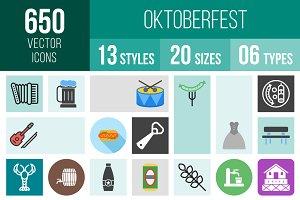 650 Oktoberfest Icons