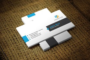 Bluealio Business Card Template