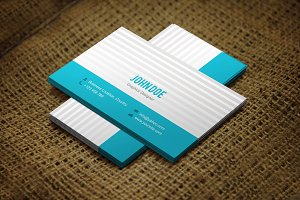 Flavino Business Card Template