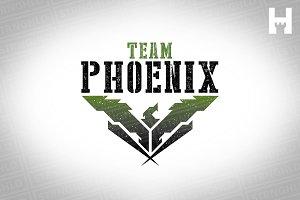 Phoenix Military Logo Template
