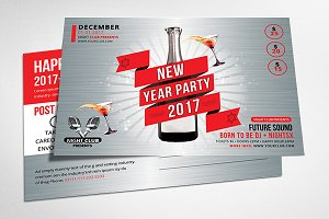2017 New Year Postcard