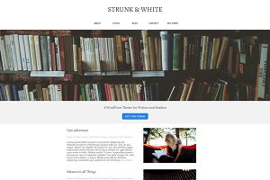 Strunk & White WordPress Theme