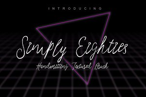 Simply Eighties Typeface