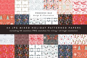 Holiday Christmas Patterns