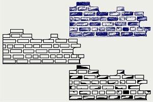 Brick wall SVG