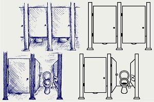 Public Toilet SVG