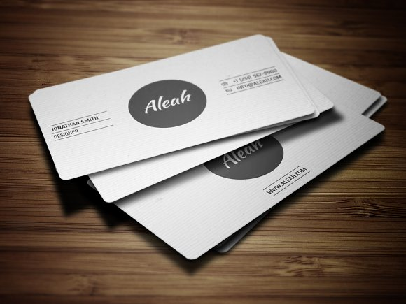 simple textured business card 2 business cards - Textured Business Cards