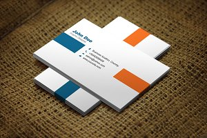 Oranvio Business Card Template