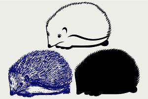 Hedgehog SVG
