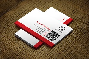 Redino Business Card Template