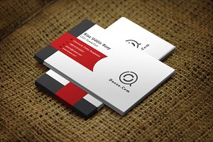 Rednic Business Card Template